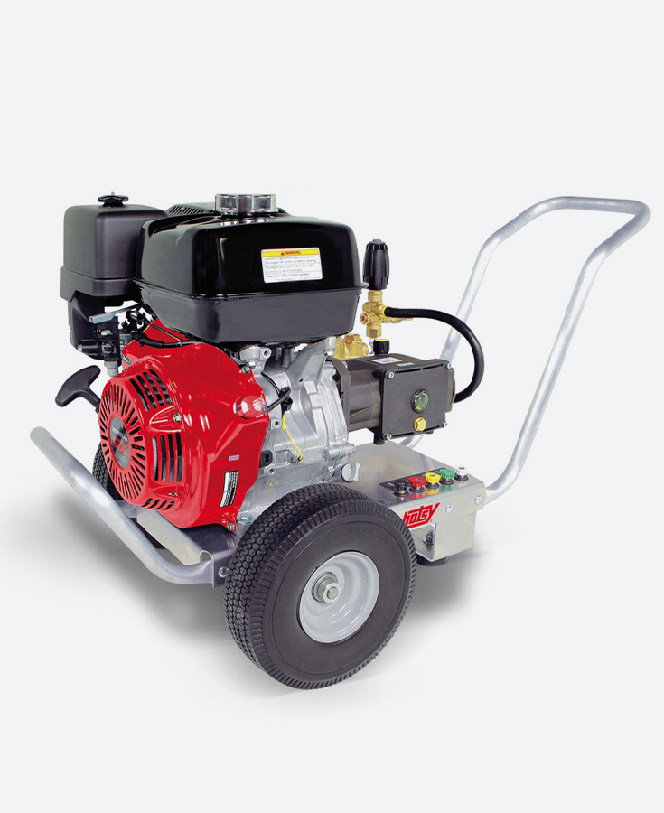 HOTSY Cold Water Gas Pressure Washer - HD SERIES, GAS ENGINE (HD-4.0/40GE)