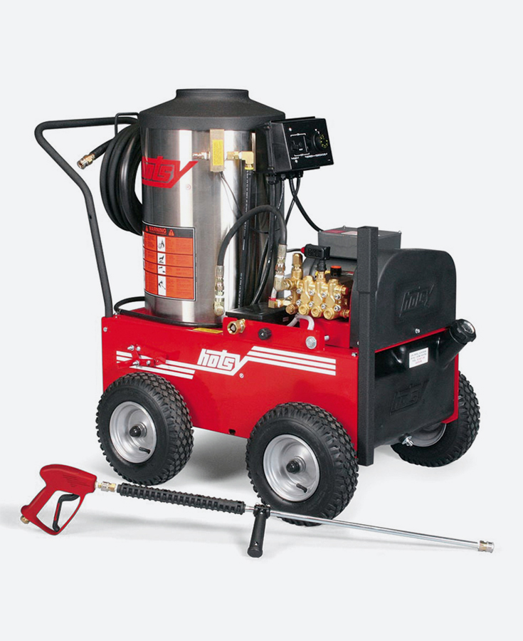 HOTSY Hot Water Electric Pressure Washer - 700 SERIES & MODEL 895SS