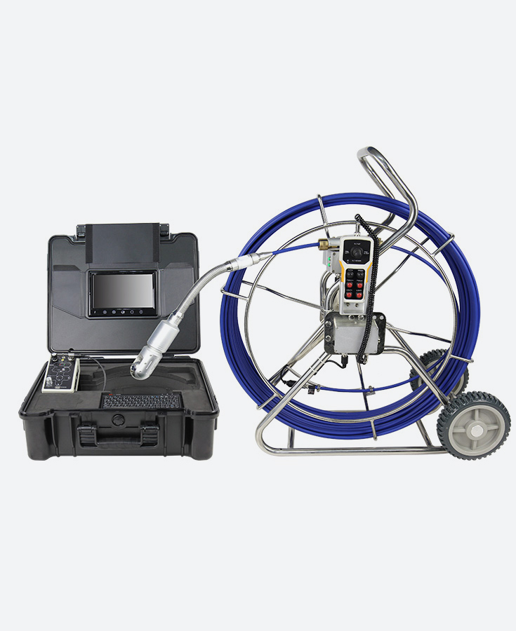 A4 WOPSON Pan Tilt Sewer Pipe Inspection Camera